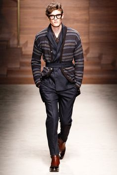 AW14 - Milan Fashion Week - Salvatore Ferragamo 3 http://www.style.com/fashionshows/review/F2014MEN-FERRAGAMO