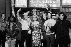Madonna hosting Saturday Night Live, somewhere between 1985-1986.Robert Downey Jr. was on from 1985-1986.