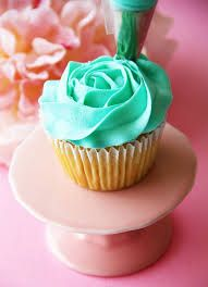 How to pipe a frosting rose like this