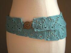 Belt crochet pattern.  Free pattern @ Www.handmadebyannepotter.WordPress.com