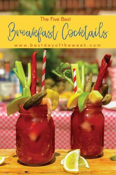 The Best-Ever Breakfast Cocktails. No matter what's on your menu, one of these easy brunch cocktail recipes is guaranteed to be the perfect pairing. Great for a crowd, we've got alcoholic cocktail pairings with coffee, orange juice and more. Alcoholic Cocktails, Fun Cocktails, Cocktail Recipes, Caesar Cocktail, Sunday Brunch, Sunday Funday, Brunch Punch, Rose Lemonade, Canadian Things