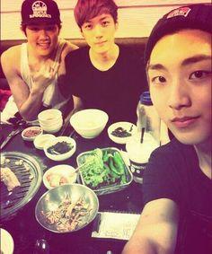 B.I.G (Boy In Groove) Benji, Gookminpyo, and Heedo