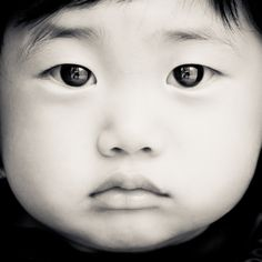 "Wonder what this kid is thinking about?    ""Baby Face B/W"" by Adam Shul, via 500px.  ""The Baby's Best Friend!"""