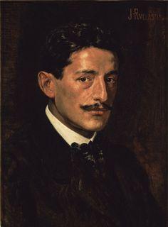 Autorretrato, 1900: Julio Ruelas