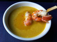 María's Recipe Book: Crema de calabaza al curry con leche de coco [Thermomix]