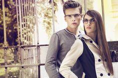 Guess, Caroline Abram, eyeglasses, glasses