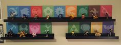 This project started as a Christmas Gift for my boyfriend who is obsessed with collecting all of the amiibos for Super Smash Bros but didn't have a good way to display the 50+ figures. The idea was to...