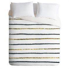 Rosenberry Rooms has everything imaginable for your child's room! Share the news and get $20 Off  your purchase! (*Minimum purchase required.) Golden Black Lightweight Duvet Cover #rosenberryrooms
