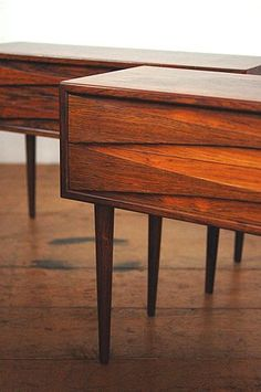 Rosewood Chest by Arne Vodder -Would love these for side tables in the bedroom