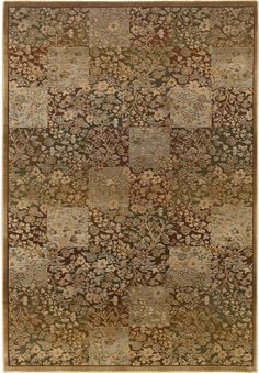 Organic Patchwork Area Rug -