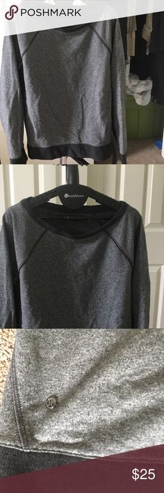 Gray lululemon sweatshirt Soft, gray lululemon sweatshirt lululemon athletica Tops Sweatshirts & Hoodies