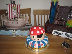 The AMAZING cake Annabel came up with for the party! LOVE IT!