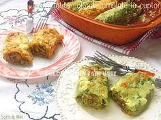 » Clatite colorate umplute cu carne si ciuperci la cuptorCulorile din Farfurie Guacamole, Mexican, Ethnic Recipes, Mexicans