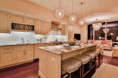Duplex Penthouse Custom Kitchen