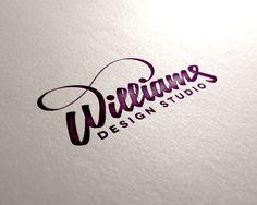 Williams design studio handwriting logo design typo design, lettering d Packaging Inspiration, Typography Inspiration, Logo Design Inspiration, Typo Design, Graphic Design Typography, Lettering Design, Pilot Parallel Pen, Vintage Poster, Types Of Lettering