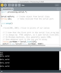 In depth article on using processing and the arduino IDE together.