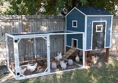 garden coop from diy chicken coop plans chickens pinterest diy chicken coop plans diy. Black Bedroom Furniture Sets. Home Design Ideas