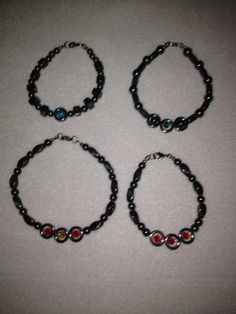 4 custom orders filled! All for men with magnetic beads.