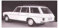 OG |Mercedes-Benz 200 T- S115  | Original MB factory prototype
