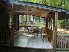Enclosed back porches. Decks Backyard Porch Ideas Back Porch Pergola Backyard Porch Ideas Luxury Outdoor Stylish Back For Home Design Nagradime Backyard Porch Ideas Imperiaonlineme Small Back Porches, Covered Back Porches, Decks And Porches, Small Patio, Porch Roof, Screened In Porch, Porch Railings, Front Porch, Roof Design