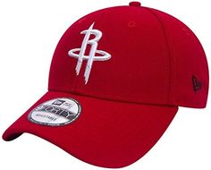 New Era 9Forty NBA Houston Rockets Casquette New Era rouge 5f35697ce26