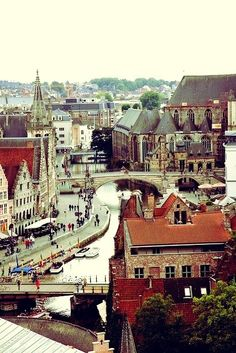 Ghent, Belgium | Belgium, I am coming for you.