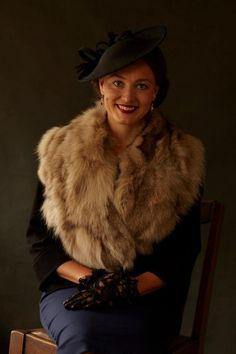 1940s coat muff - Google-Suche