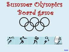 Olympic Games Boardgame