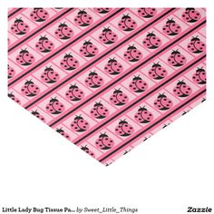 "Little Lady Bug Tissue Paper 10"" X 15"" Tissue Paper"