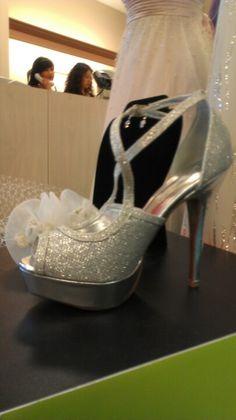 Davids bridal wedding heels