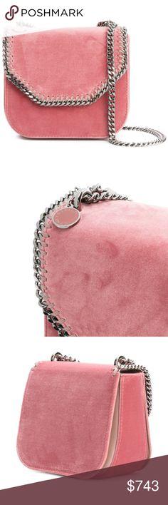 STELLA MCCARTNEY mini Falabella Box shoulder bag NWT Ebay Price Reduced $564  https://www.ebay.com/itm/STELLA-MCCARTNEY-Mini-Falabella-Box-shoulder-bag/173240716157  Product Measurements Strap:23.2 in Depth:3.9 in Width:6.3 in Height:5.9 in  Farfetch price $970 Stella McCartney Bags Shoulder Bags
