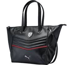 The stylish Ferrari LS Handbag has a two way zip main compartment and  special quilting effect panel. 81e44cac49