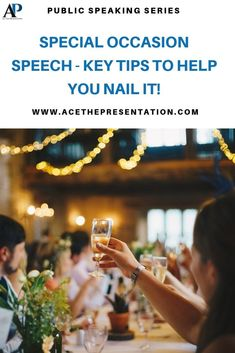 Have you ever had to deliver a toast speech, or any sort of special occasion speech? It can be hard to choose the right words, structure and deliver a memorable speech in such cases. Check out our easy to follow tips on how to deliver an effective special occasion speech.  #specialoccasionspeech #specialoccasion #speechtechniques #specialoccasionspeaking