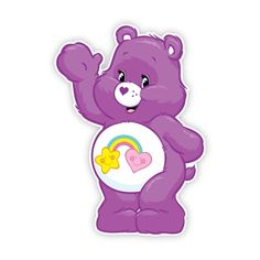 Walls 360 Peel & Stick Fabric Wall Decals: Care Bears Best Friend Bear Wave in x 12 in) Care Bear Birthday, Care Bear Party, Care Bears, Care Bear Onesie, Care Bear Tattoos, Care Bear Costumes, Bear Character, Bear Wallpaper, Bear Pictures