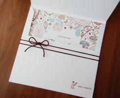 Convite de casamento Pâmela & Roberto