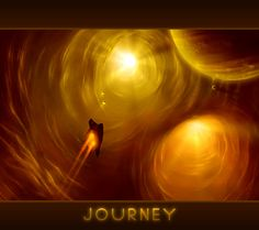 portal through light