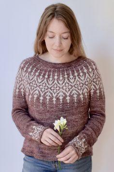 Filet Crochet, Knit Crochet, Knitting Projects, Knitting Patterns, Icelandic Sweaters, Nordic Sweater, Fair Isle Knitting, Knitwear, Jumper
