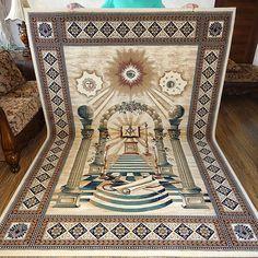 Masonic Area RUG Carpet Apron Lodge Bible Freemasonry Mason