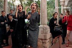 Campana Dolce Gabbana otono invierno 2013 Monica Bellucci Bianca Balti
