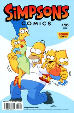 Simpsons Comics 205