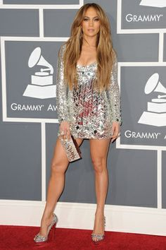 JLo...always was and will be stunning. Love her legs!!