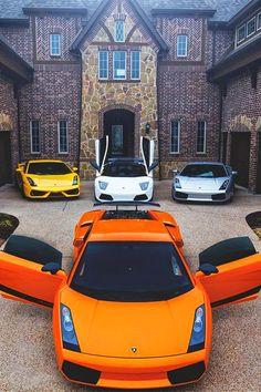 Lamborghini's very very happy with family