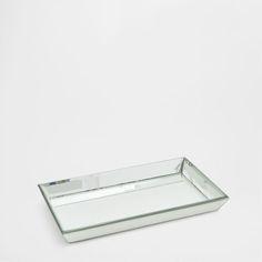 DECORATIEF SPIEGELEND DIENBLAD - Accessoire Decoratie - Decoratie | Zara Home…