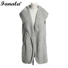 Wool Blend Sleeveless Jacket