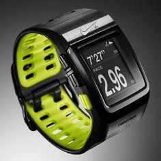 Nike+ SportWatch GPS, use it on every run.