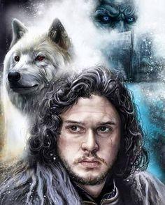 Tatuagem Game Of Thrones, Dessin Game Of Thrones, Game Of Thrones Artwork, Game Of Thrones Poster, Game Of Thrones Books, Game Of Thrones Fans, Jon Schnee, Jon Snow, King In The North