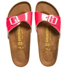 c37f7f522e BIRKENSTOCK Girls Neon Pink 'Madrid' Sandals Birkenstock Sandals, Pink  Sandals, Childrens Shoes