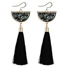 Glamorous Fringe Tassel Earrings