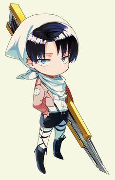No soy la única que piensa que sus espadas son cuters grandes jajaja - Attack on Titan