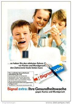 Original-Werbung/ Anzeige 1969 - SIGNAL EXTRA ZAHNCREME - ca. 130 x 200 mm